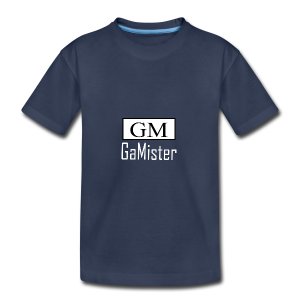 gamister_shirt_design_1_back - Kids' Premium T-Shirt