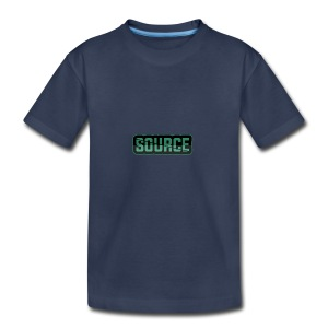 Green and Black Source Logo - Kids' Premium T-Shirt