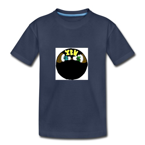 YOUNG RICH NINJA LOGO - Kids' Premium T-Shirt