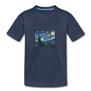 Starry Night Drone - Kids' Premium T-Shirt