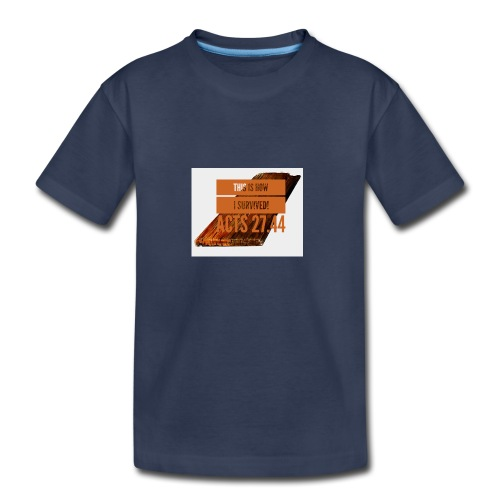 How I survived! - Kids' Premium T-Shirt