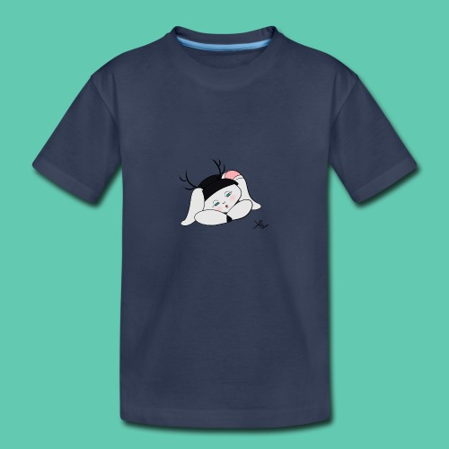 Sleepy Jackalope Annette - Kids' Premium T-Shirt
