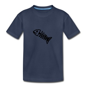 Bass Bones - Kids' Premium T-Shirt