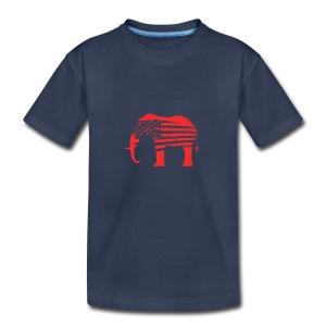 The Red Elephants Official Logo - Kids' Premium T-Shirt