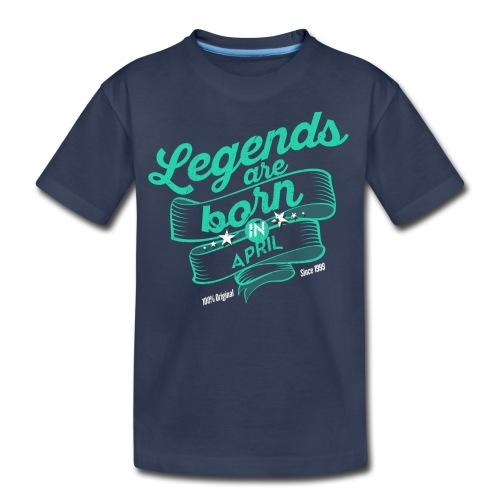Vintage 3 Dark April - Kids' Premium T-Shirt