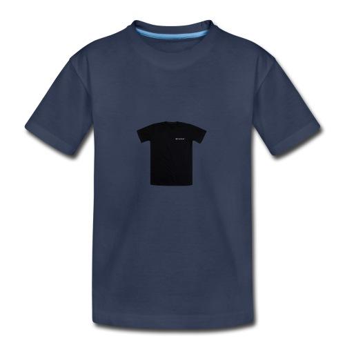 black spacex back 2 1 - Kids' Premium T-Shirt