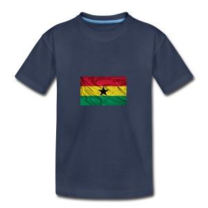 Ghana-Flag - Kids' Premium T-Shirt