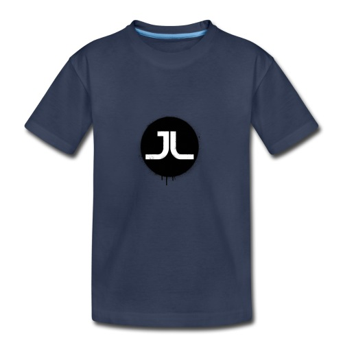 JL BLACK PAINT SPLATTER - Kids' Premium T-Shirt
