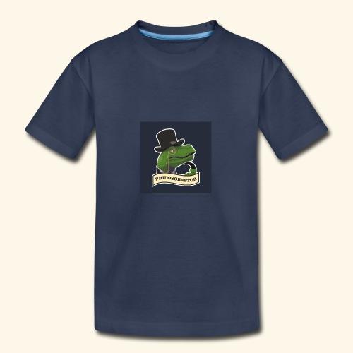 Philosoraptor - Kids' Premium T-Shirt