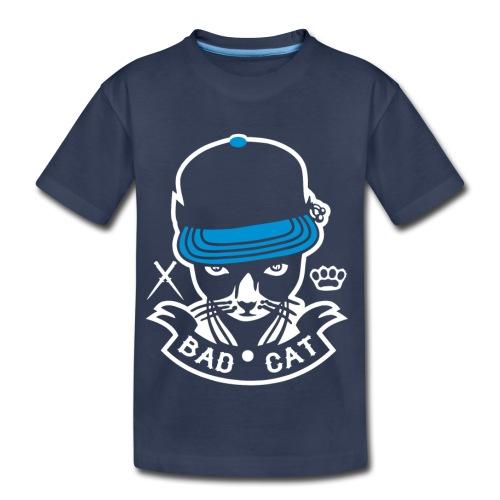 Bad Cat Geddo Cat - Kids' Premium T-Shirt