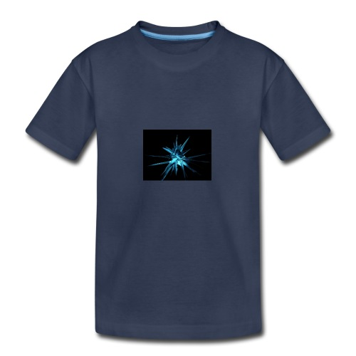 Neon blue design - Kids' Premium T-Shirt