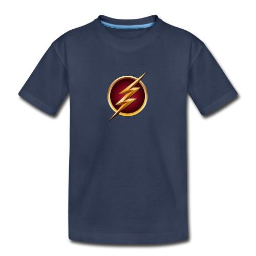 Flash Logo - Main Channel - Kids' Premium T-Shirt