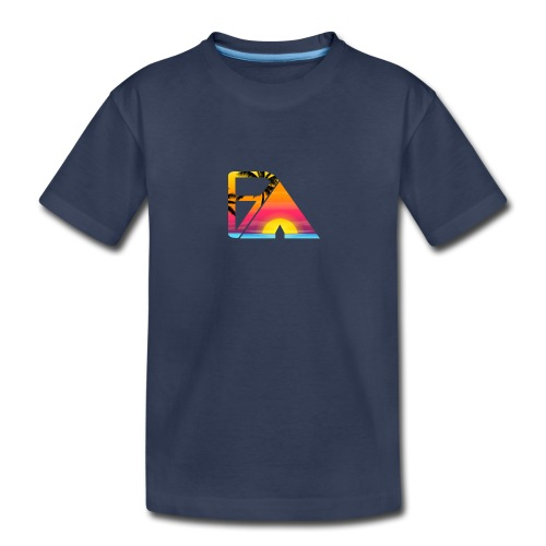 Beach theme - Kids' Premium T-Shirt