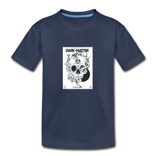 Flowery-Skull - Kids' Premium T-Shirt