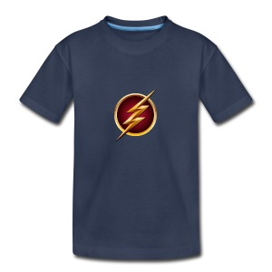 Flash Logo - Main Channel - Kids' Premium T-Shirt