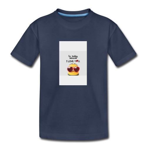 smiling - Kids' Premium T-Shirt