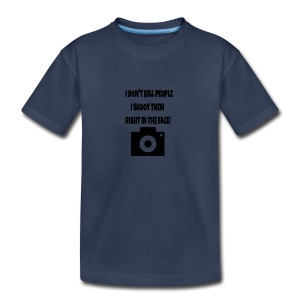 right in the face - Kids' Premium T-Shirt