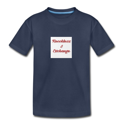 Reccklezz Exchange red - Kids' Premium T-Shirt