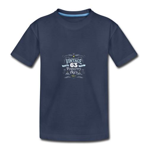 Funny Vintage 63rd Birthday Gift - Kids' Premium T-Shirt