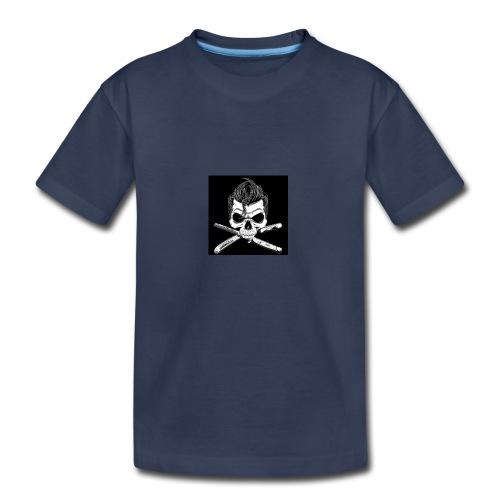 Greaser skull - Kids' Premium T-Shirt