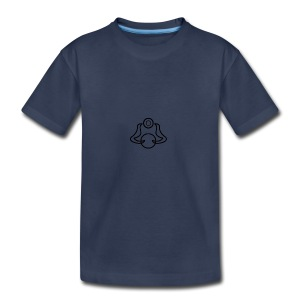 Dolphin Bell illusion logo - Kids' Premium T-Shirt