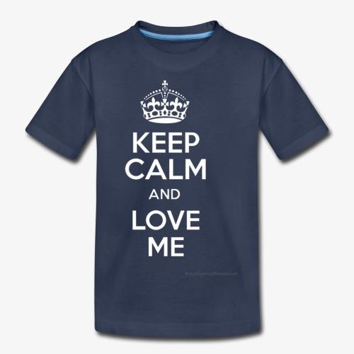 keep calm and love me - Kids' Premium T-Shirt