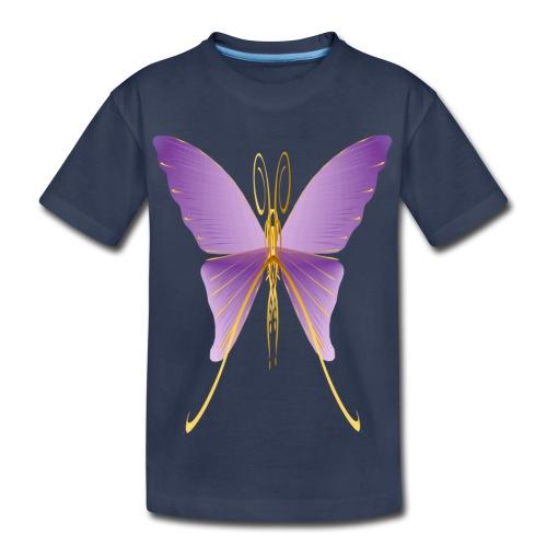 One Big Purple Butterfly - Kids' Premium T-Shirt