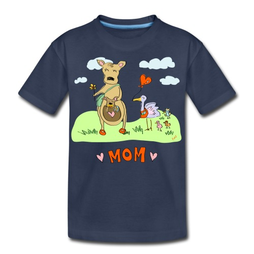 Mom is Best - Kids' Premium T-Shirt