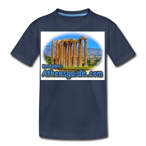 athenshguide temple zeus jpg - Kids' Premium T-Shirt