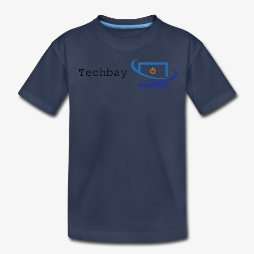 Techbay full logo - Kids' Premium T-Shirt