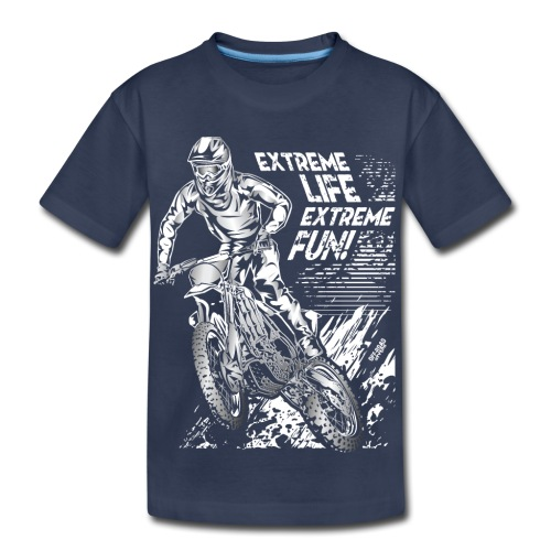 Motocross Extreme Fun - Kids' Premium T-Shirt