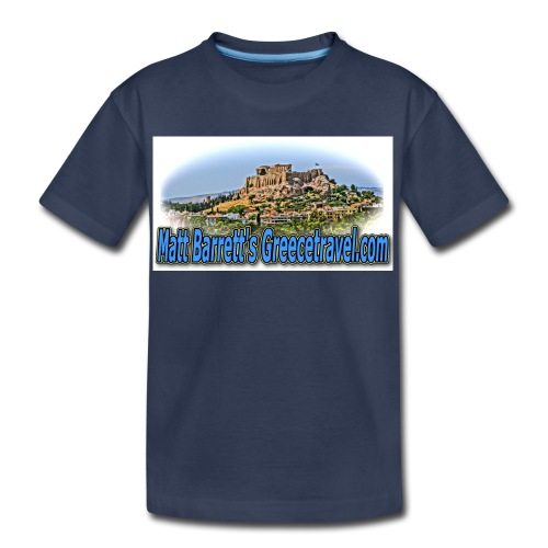 Greece Travel Acropolis jpg - Kids' Premium T-Shirt