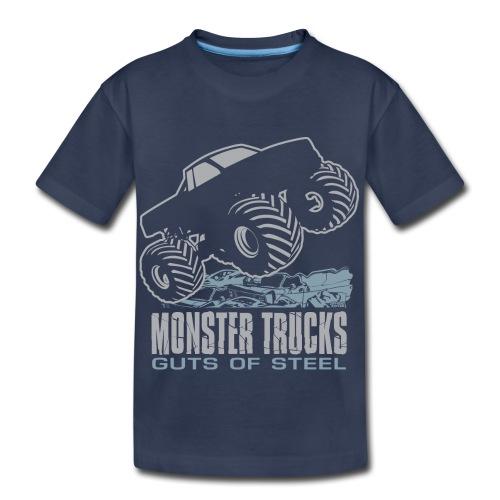 Monster Truck Guts - Kids' Premium T-Shirt