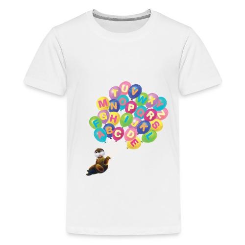 Balloons Walrus - Kids' Premium T-Shirt