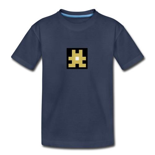 YELLOW hashtag - Kids' Premium T-Shirt