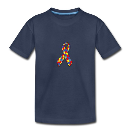 Asperger ribbon - Kids' Premium T-Shirt