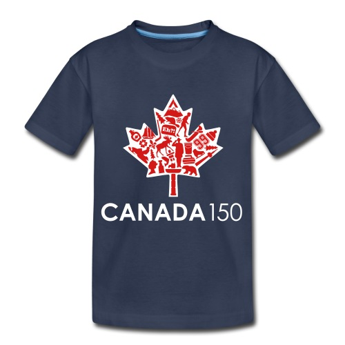 Canada 150 Womens - White - Kids' Premium T-Shirt