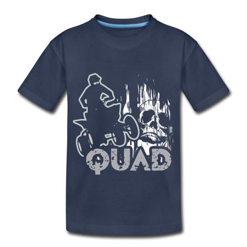 ATV Quad Skull Screamer - Kids' Premium T-Shirt