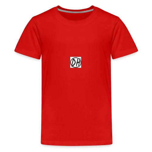 the white line - Kids' Premium T-Shirt