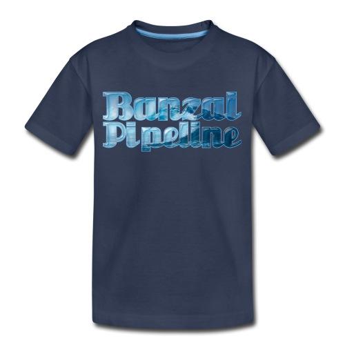Banzai Pipeline - Ultimate Surfing Waves - Kids' Premium T-Shirt