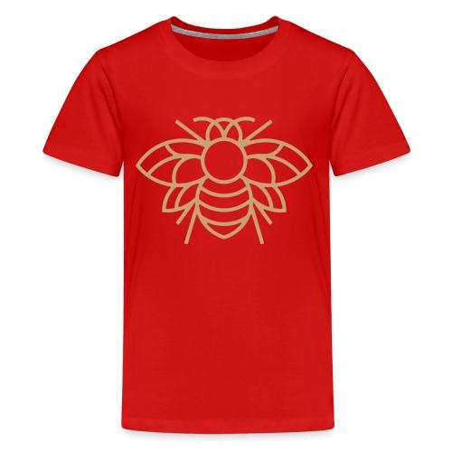 (bee_gold) - Kids' Premium T-Shirt