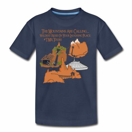 Mountains Are Calling - TMR - Kids' Premium T-Shirt