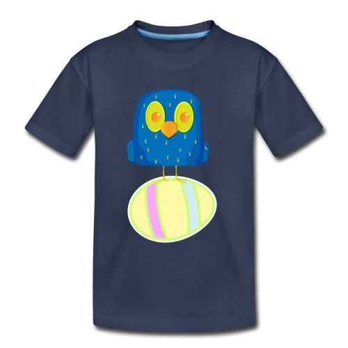 Hatching Easter Eggs, Hatching Plan, Funny Easter - Kids' Premium T-Shirt