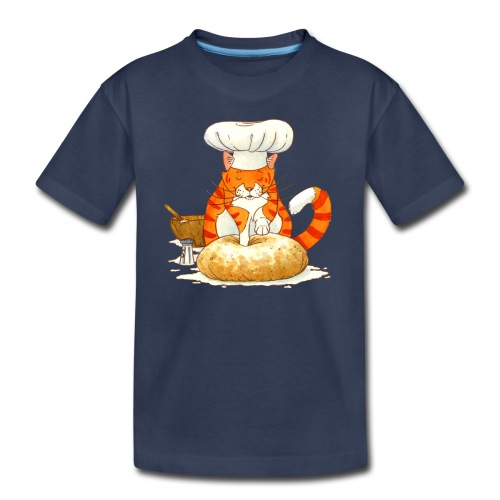 Chef Cat by Rachael B - Kids' Premium T-Shirt