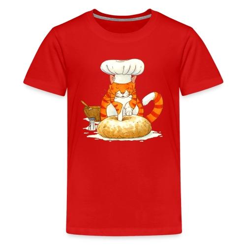 Chef Cat by Rachael B - Kids' Premium T-Shirt