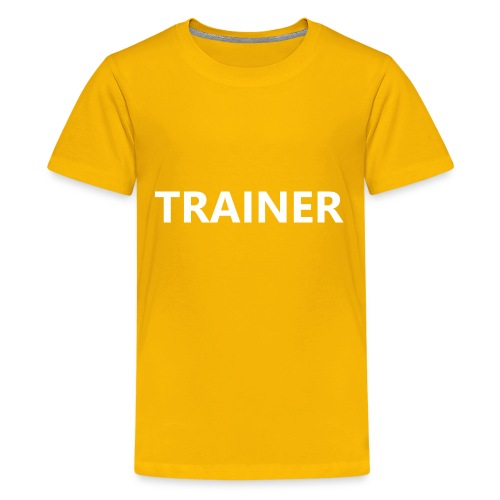 Trainer - Kids' Premium T-Shirt