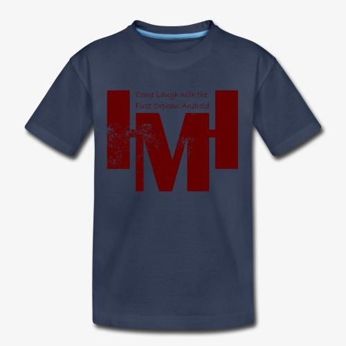 YouTube's Master Human: Grunge Underground Logo - Kids' Premium T-Shirt