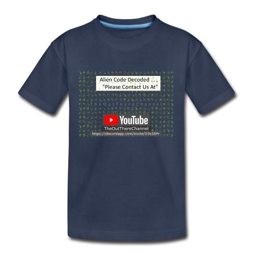 AlienCode v3 TransparentBG2019 - Kids' Premium T-Shirt