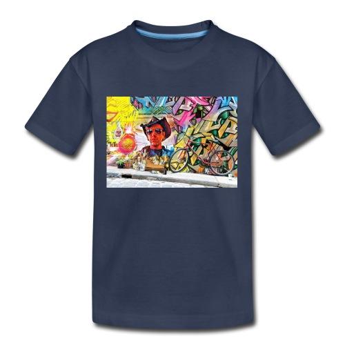 Randy The Tiger Man graffiti likeness - Kids' Premium T-Shirt