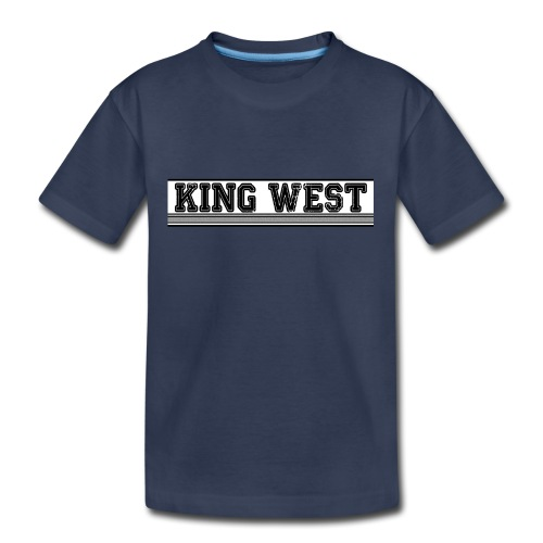 King West OG logo - Kids' Premium T-Shirt